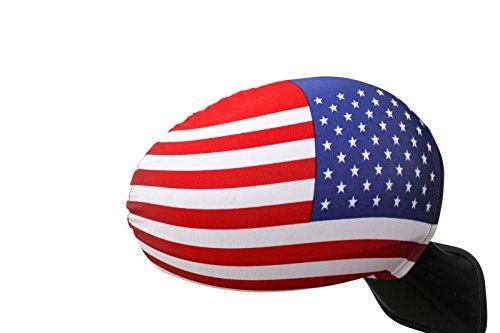 Giftomania American Flag - Car Side Mirror Covers - A set of 2 flags