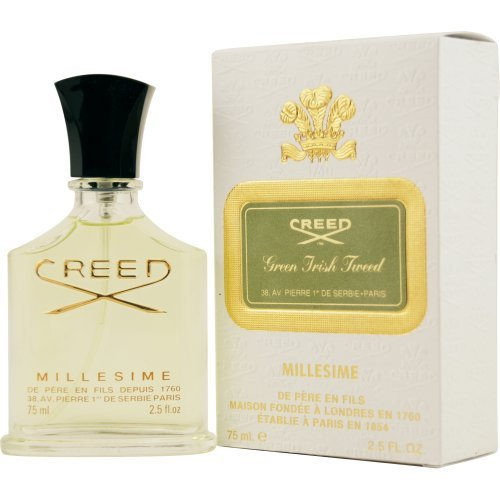 Creed Green Irish Tweed Millesime Eau De Parfum Spray, 2.5 Ounce Body Care / Beauty Care / Bodycare / - Millesime Tester Spray Creed