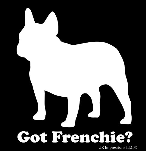 Got Frenchie Decal Vinyl Sticker|Cars Trucks Walls Laptop|WHITE|5.5 In|URI050 (Frenchie Costumes)