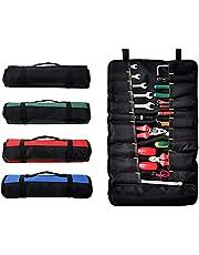 Gereedschapstas met 38 zakken, Opvouwbare gereedschapstassen, Roll Tool Opbergtas, Schroevendraaierrol voor buitengebruik