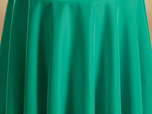 Fabric Color Samples - Bright Settings Fabric Sample - Flame Retardant Basic Polyester Solid Colors-Jade