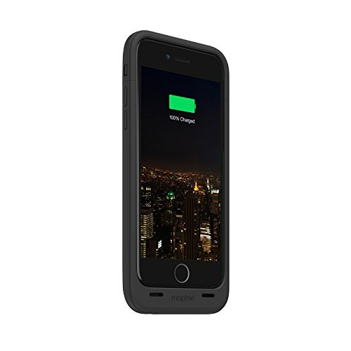 Mophie Juice Pack Plus - Protective Mobile Battery Pack Case for iPhone 6/6s - Black (Certified Refurbished)