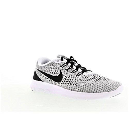 Dettagli su Donna Nike Free Rn Running 889120 100 Scarpe Sportive Bianche e Nere
