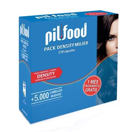 PILFOOD Pack Density Mujer 3 Meses 270 cápsulas: Amazon.es: Salud y cuidado personal