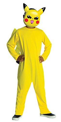 UHC Pokemon Pikachu Outfit Funny Theme Fancy Dress Child Halloween Costume, Child L (Pikachu Halloween Costume Baby)