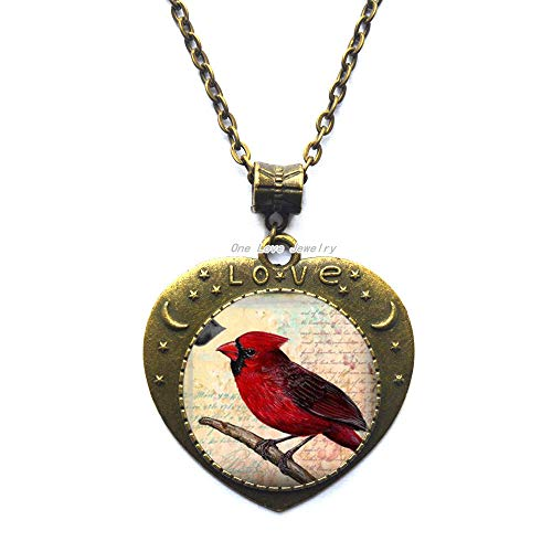 Ni36uo0qitian0ozaap Cardinal Pendant,Necklace or Key Chain-Cardinal Necklace,Memorial Necklace,Loved Ones,TAP343
