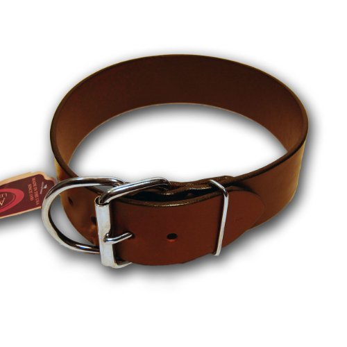 Auburn Leathercrafters Tuff Stuff Collar, Burgundy, 26 inches (24 inches to 26 inches)