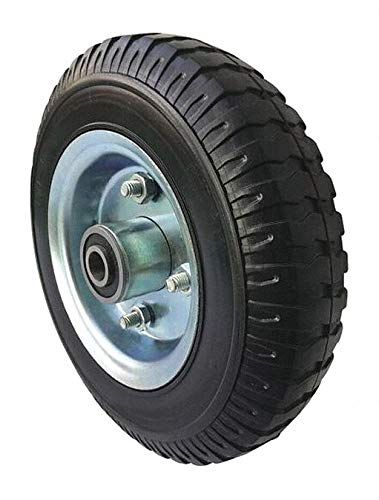 8-3/16'' Light-Duty Centipede Tread Solid Rubber Wheel, 300 lb. Load Rating pack of 5