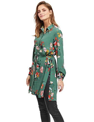 Verde Milja Long s Vimule Vila L Vestido Mujer qOanxt0