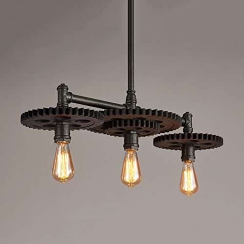Red And Black Pendant Lighting - 9