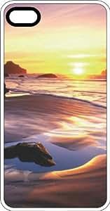 Lmf DIY phone caseBeach Sunrise White Plastic Case for Apple iPhone 6Lmf DIY phone case