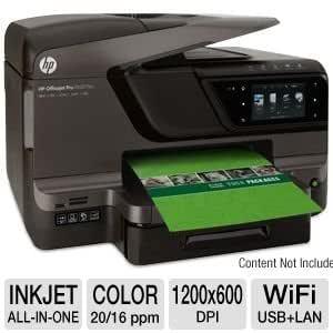 HP OfficeJet Pro 8600 - Impresora multifunción de tinta (con WiFi ...