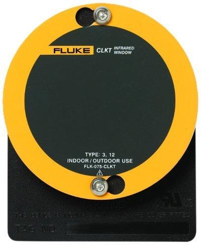 Fluke FLK-100-CLKT C-Range IR Window with Kwik Twist, 4'' Diameter, 0.16'' Thick, For Outdoor and Indoor Applications by Fluke Corporation