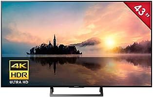 "Sony KD-43X720E Smart TV 43"", 4K HDR Ultra HD, Wi-Fi, 3 x HDMI"