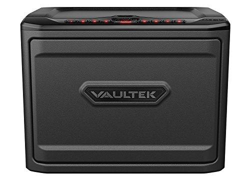 Vaultek PRO MX High Capacity Keypad Handgun Safe Multiple Pistol Storage Bluetooth Smart Safe (Titanium Gray)