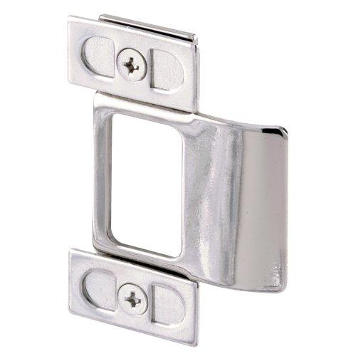 Door Strike Plate Adjust - Defender Security U 9488 Adjustable Door Strike, Chrome Plated, 2-Piece