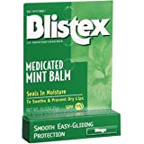 Special pack of 6 BLISTEX INCORPORATED BLISTEX MEDICATED MINT BALM 0.15 oz