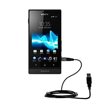 Amazon.com: Cable USB recto clásico para el Sony Ericsson ...