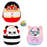 Squishmallow Soft Plush Character Pillows | YouTube Personality | Ryan's World Character | 13 inches