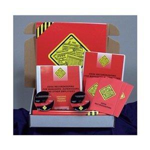 Marcom Group K0000189SO OSHA Recordkeeping Package, DVD Training Kit, Spanish