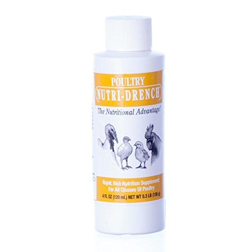 Nutri-Drench Poultry Solution 4 FL OZ - 4 Poultry