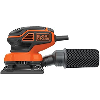 BLACK+DECKER BDEQS300 1/4-Sheet Orbital Sander