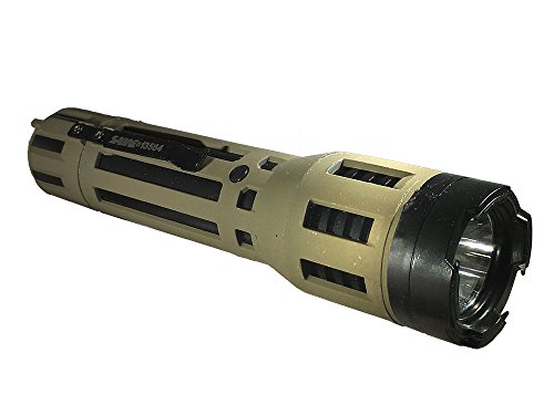 (SABRE Tactical Stun Gun—One of The Industry's Strongest—Powerful 120 Lumen Flashlight with Holster—Life Time Warranty & Training Video Included!)