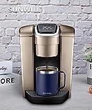 SUNWILL 14 oz Coffee Mug, Vacuum Insulated Camping