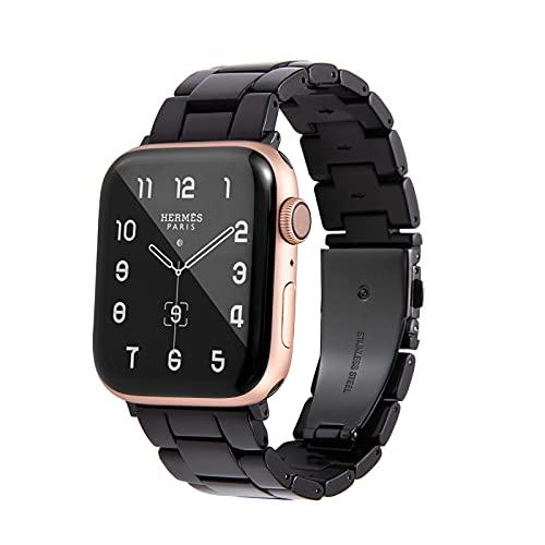 Malla HOPO para Apple Watch 38/40mm 6/5/4/3/2/1/SE (negro)