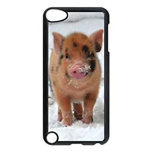 ANCASE Customized Print Cute Pig Pattern Hard Case for iPod Touch 5