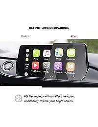 2018 2019 Mazda 6 Protector de pantalla de navegación Pantalla táctil anti arañazos Alta claridad Transparente HD Película de protección de vidrio templado