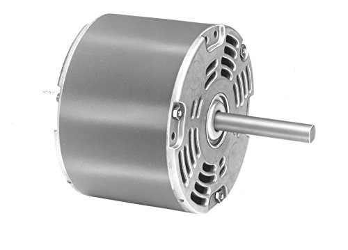 Fasco D1028 5.0-Inch Diameter Shaded Pole Motor, 1/8 HP, 115 Volts, 1050 RPM, 1 Speed, 3.3 Amps, CW Rotation, Sleeve Bearing