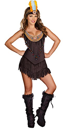 Reservation Royalty Costume - Large - Dress Size