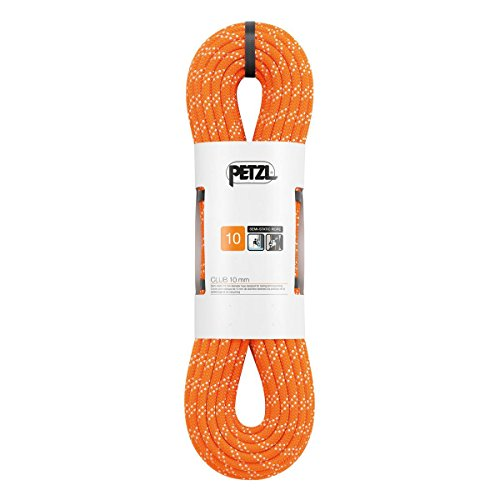 PETZL - Club 10 mm, Rope Designed for Caving and Canyoning, Orange, 60 m ()