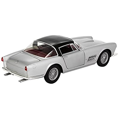 Hot wheels T6243 Ferrari 410 Superamerica Silver 1/18 Diecast Car Model by Hotwheels: Toys & Games