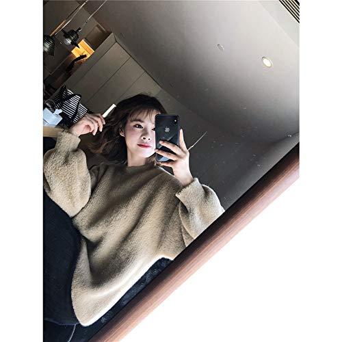 Verde Uniform Windsetsweaterfemaleloosekoreanshortsweater Code Lazy Khaki Ekfhos HEXq4wY