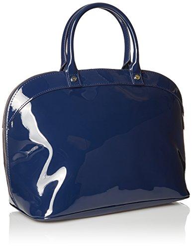 Armani Jeans Borsa Shopping Donna Pvc/Plastica Blu