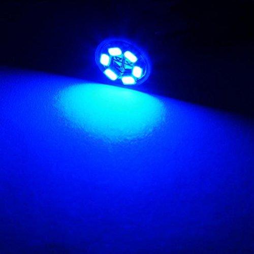 Amazon.com: Partsam 10PCS Blue PC194 T10 Instrument Panel LED ...