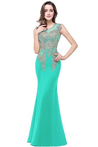 long black peacock dress - 8