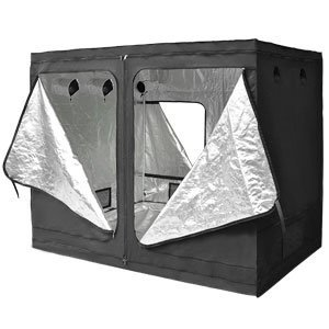 Quictent® Reflective Interior 118 x 60 x78 inch Hydroponic Grow Tent Hydro Dark Room Box