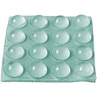 Brinox B78030H Gotas protectoras adhesivas, Transparente, Diámetro 12