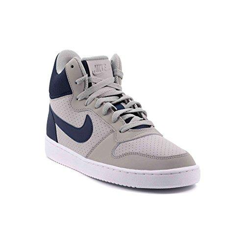 Nike white Uomo Mid Borough Basket Black Scarpe da Court 8wzr7xU8