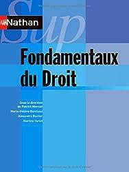 Fondamentaux du Droit - Collection Nathan Sup