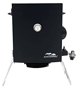 Masterbuilt 20050116 Patio-2-Portable Propane Smoker, Black