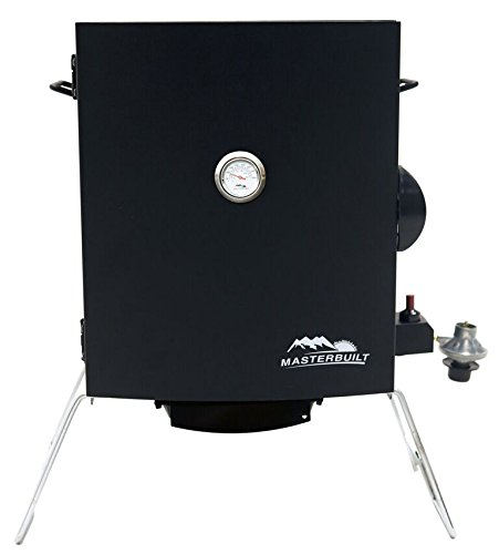 (Masterbuilt 20050116 Patio-2-Portable Propane Smoker, Black)