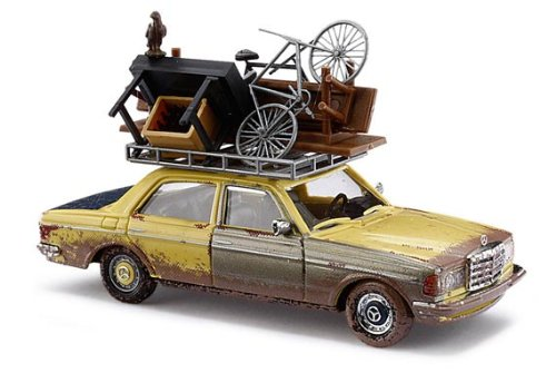 Busch 46858 MB W123 w/Roof Top Load HO Scale Vehicle for sale  Delivered anywhere in USA