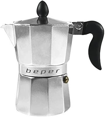 BEPER Cafetera Tradicional Individual CA.010, 0 W, 0.1 litros, 0.6 ...
