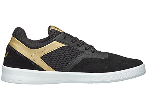 Skate Mens Lace Mesh Gold Black Shoes Supra Saint white Gray Suede Up Sneakers TOxwqRpw