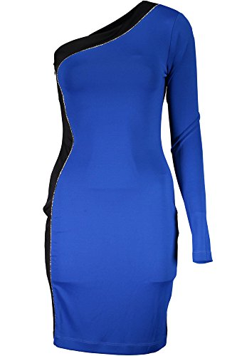 Just Damen Kurtzes Cavalli 520 Blu S04CT0693 Kleid w4FzCq