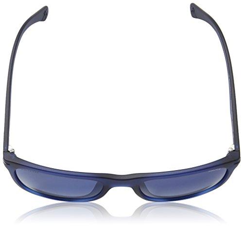 Police Sonnenbrille (SPL357) BLU TRASPARENTE OPACO